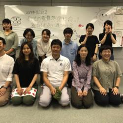 2019/8/25 気質特徴に合った親子ふれあい遊びプログラム